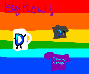 Buy your Drawception merch now!