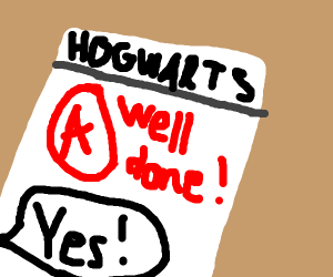 Getting an A at hogwarts