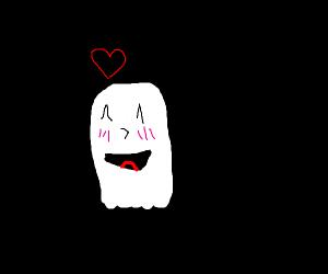 blushing ghost