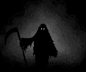 Death Wanders An Empty World