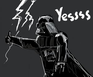 Darth Vader needs lightning