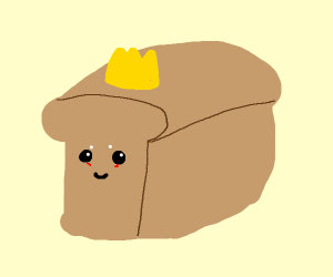 loaf of bread with a crown