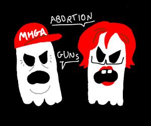 Ghost politics