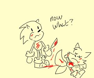 sonic kills tails