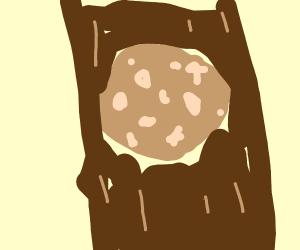 Potato in a stick