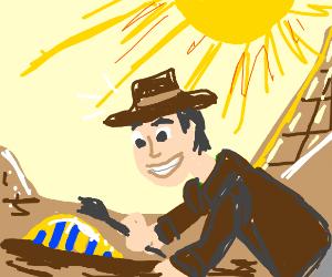 Happy Archaeologist