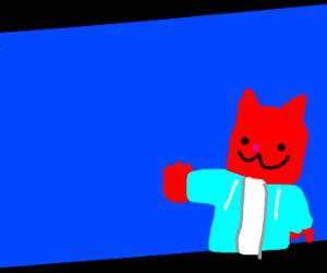 Red Cat Sans joins Smash Bros