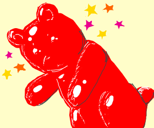 Fabulous gummy bear