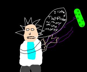 Emo Rick Uses Telekinesis