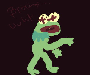Kermit comes back from the dead