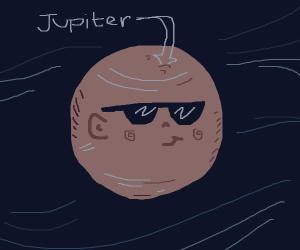 Jupiter in shades