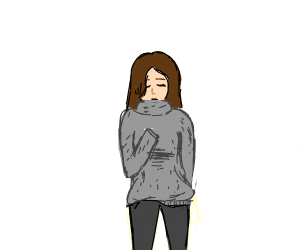 Very itchy sweater