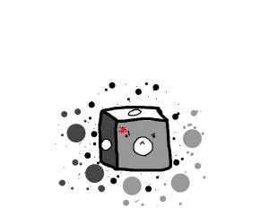 D1 rolling dice.