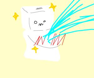 toliet loves exploding stall