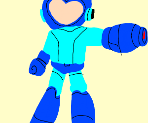 Mega-Man with no face