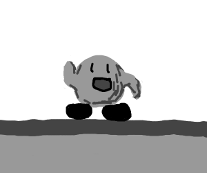 Black and White Kirby