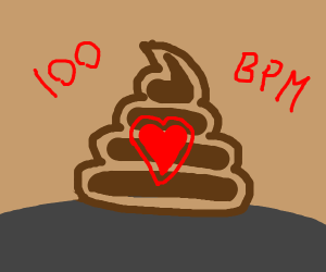 A Poop's Heart Rate