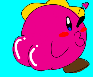 Kirby is thicc boi