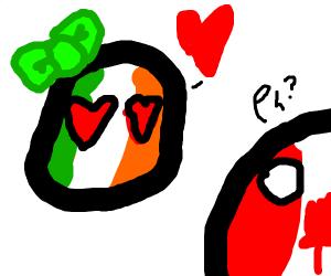 italian girl is in love w/ canada boy