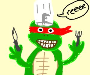 turtle chef!