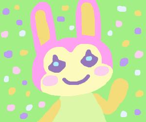 Animal Crossing Bunny likes you