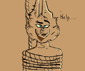 Hung furry
