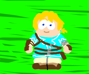 Link from Breath of the Zelda
