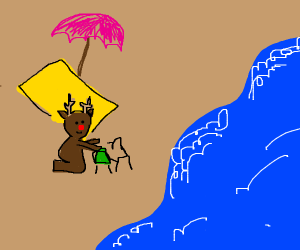 Rudolf on vacation