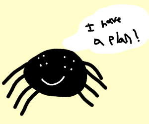 spider with a plan