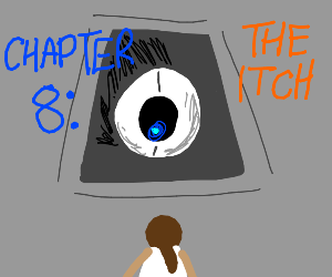 weatly has an itch (portal 2)