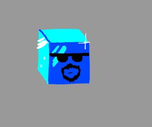 Ice cube has a nice goatee