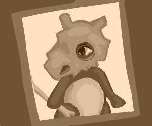 A sad cubone