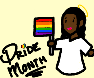 Black Jesus Pride Month