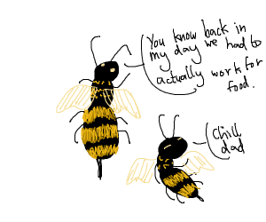 Bee says Says - Back In my Day...