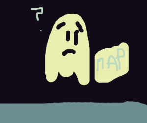 This ghost seems lost
