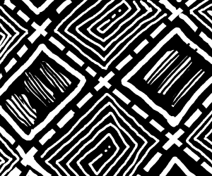 a cool pattern that i want tatood on my face
