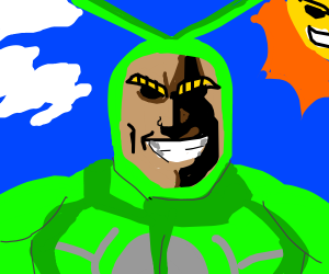 Dipsy As All-Might