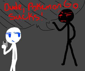pokemon go is poop game
