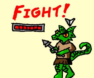 You encounter a Kobold. It's battle time.