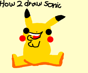 Sonic tutorial ends with enticing Pikachu