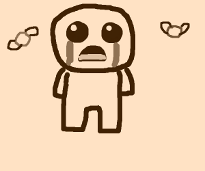 Issac from The Binding of Isaac (idk)