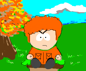Ginger South Park Character
