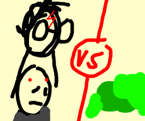 Harry Potter and Voldemort vs slime