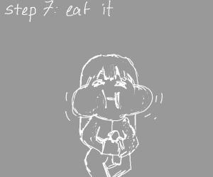 step VI: get a snack