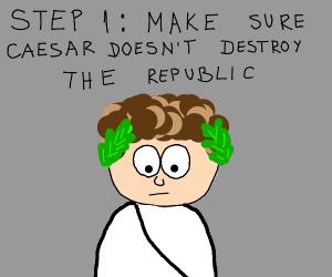 Step Zero: Restore the Republic