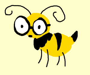 Hornet with Glasses