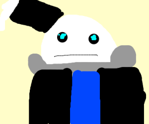 sans but his limbs are attached to his head