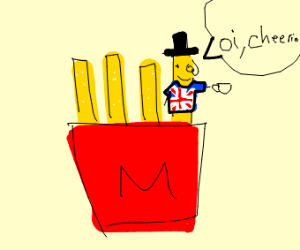 A very British French Fry