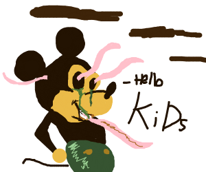 Hollow Mickey Mouse