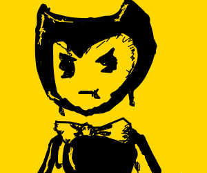 bendy is angry